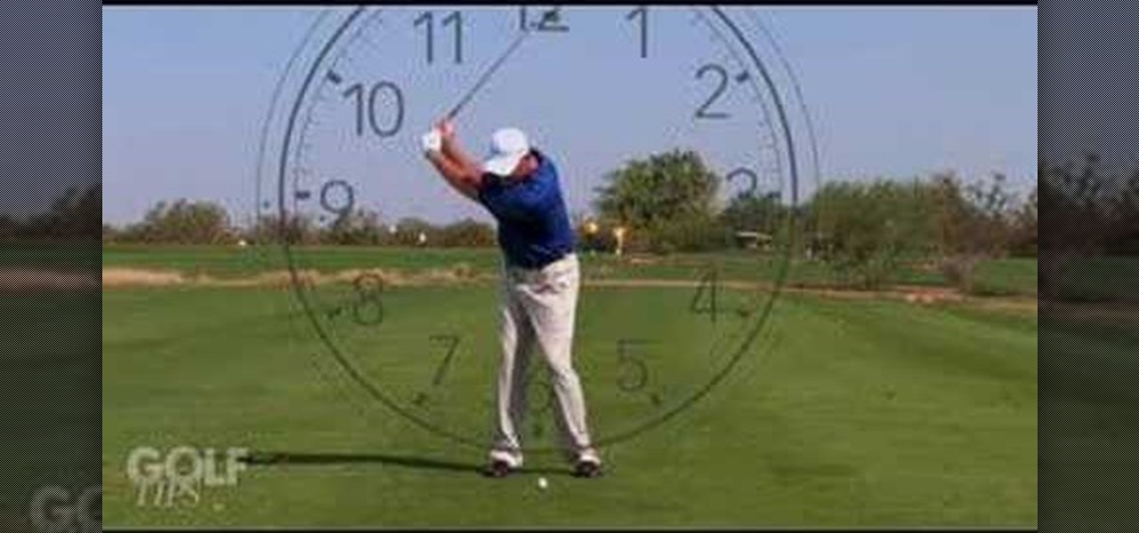 How To Clock Your Wedge Shots For A Better Golf Swing