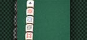 Play poker dice using poker hands