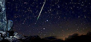 Hunt and find fallen meteorites from a meteor shower