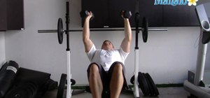 Do an incline dumbbell fly weight lifting exercise