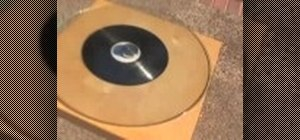 how to clean vinyl records with alcohol