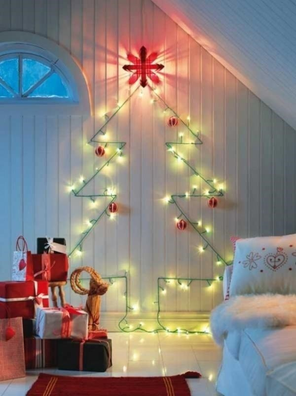 3christmas light alternatives - Christmas Decorations On The Cheap