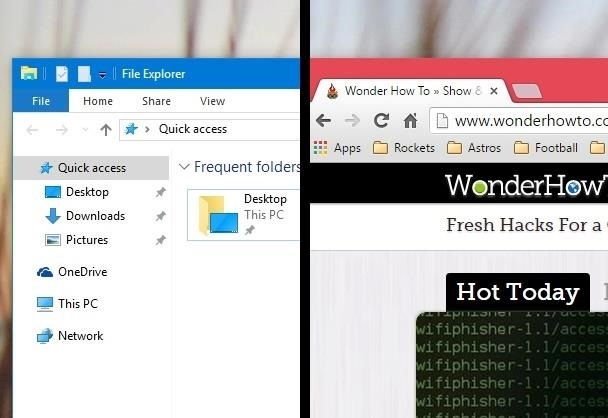 how to make title bar transparent in windows 10