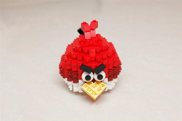 lego robin bird instructions