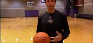 Practice passing with NBA star Steve Nash