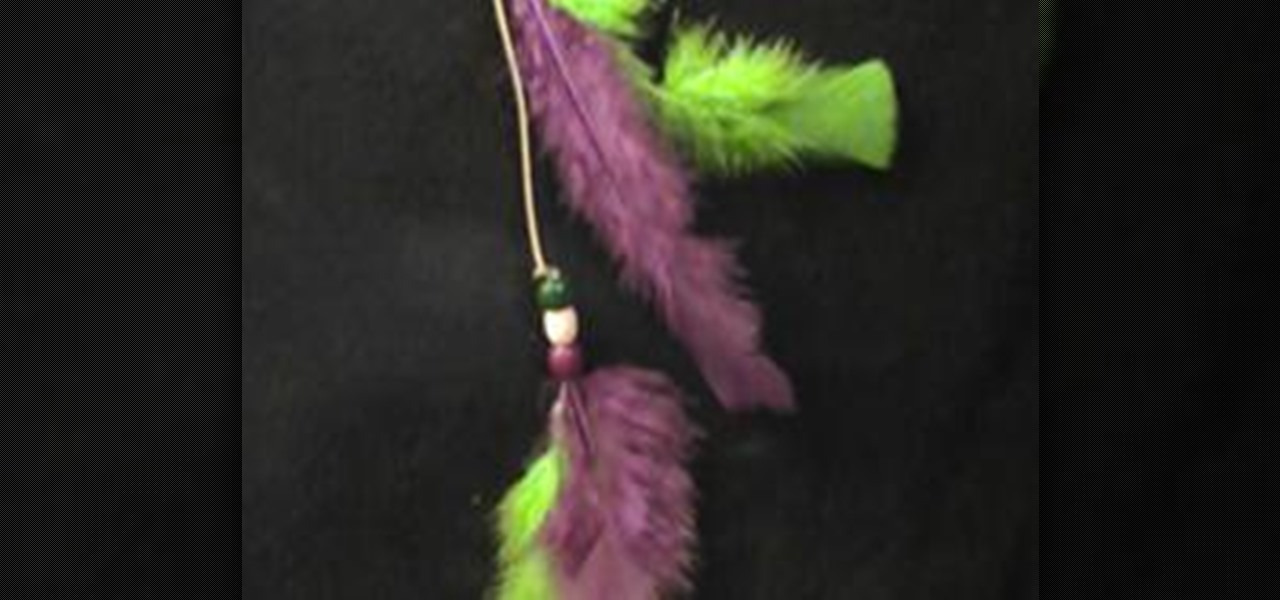 How To Make A Roach Feather Hair Clip Jewelry Wonderhowto