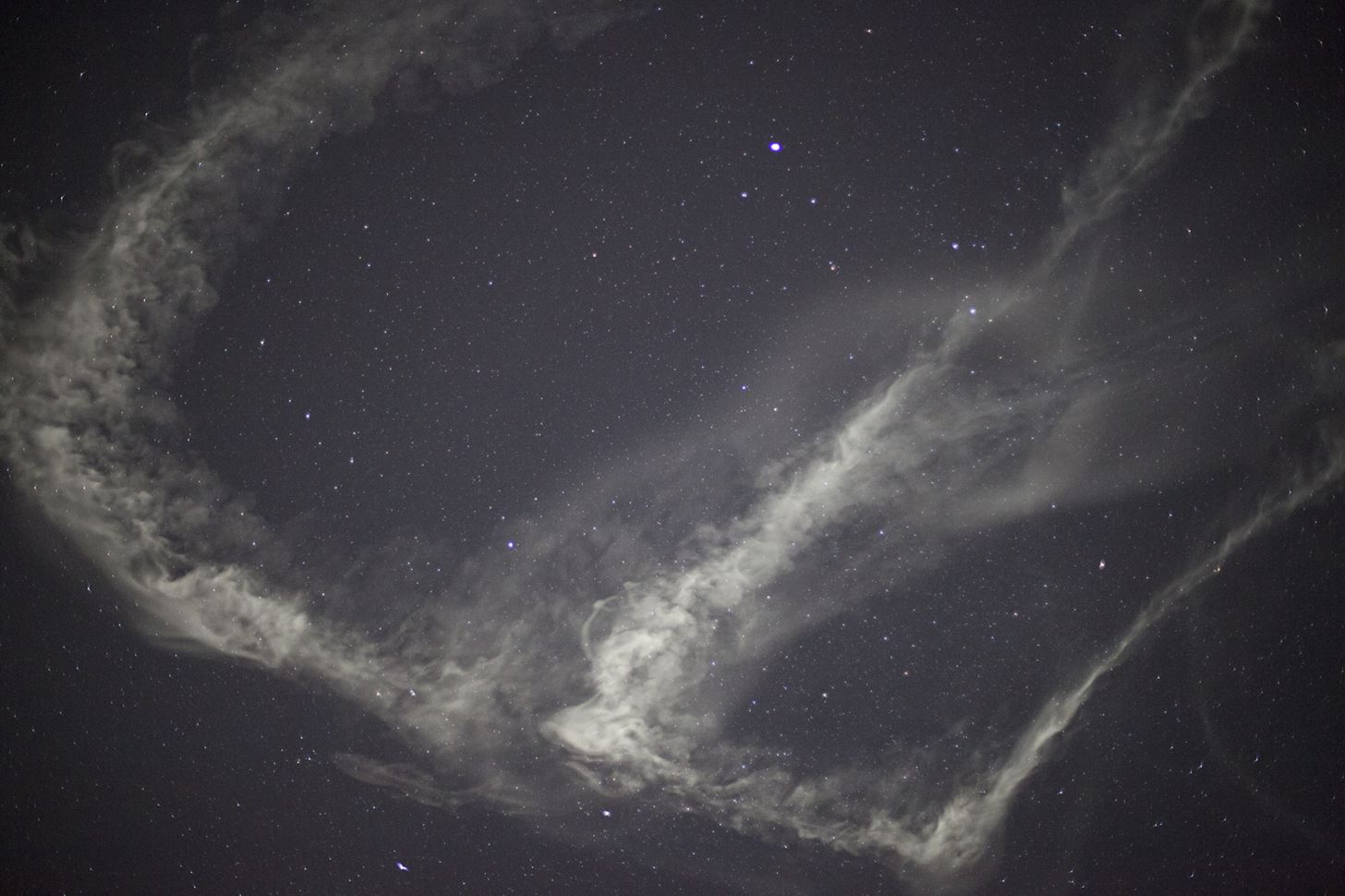 Watch NASA's Tracer Rockets Light Up the Sky with Cloud Trails