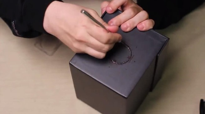 How to make a smartphone projector for less than 5 for How to make mobile projector