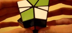 Solve the acid cube Square One puzzle