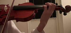 Play Pirates of the Caribbean main theme on violin