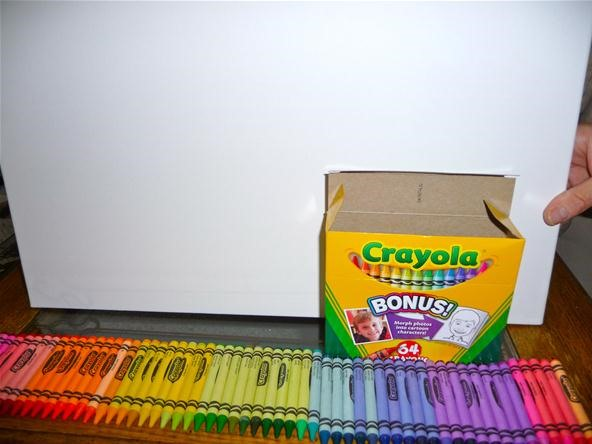WTFoto's Homemade Mondays: It's Raining Crayons