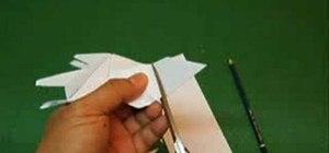 Fold a JKF-168 jetplane paper airplane
