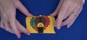 Make simple and cute Thanksgiving turkey treat bags