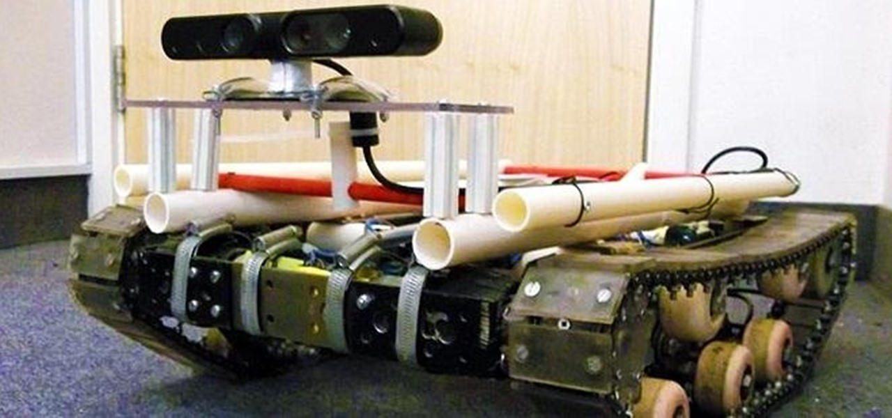 The Super Smart DIY Tank Robot That Can Map Its Own Surroundings