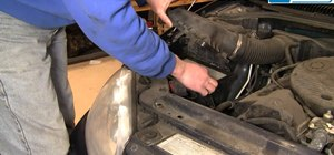 Replace the engine air filter on a 1998-2004 Dodge Intrepid