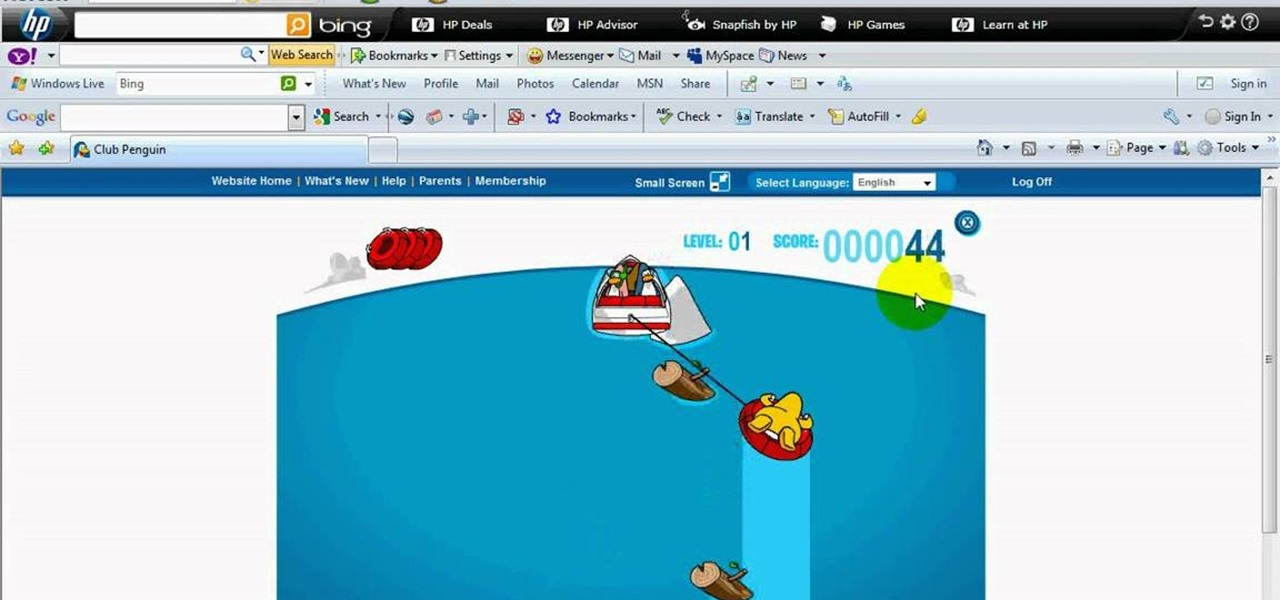 How to Earn Club Penguin coins with Cheat Engine (10/23/09