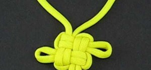 """Tie a perfect """"good luck"""" knot"""