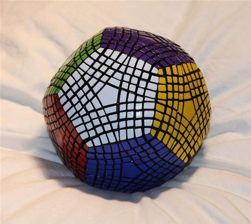 1,000 Part Rubik's Cube: $3,550 Petaminx