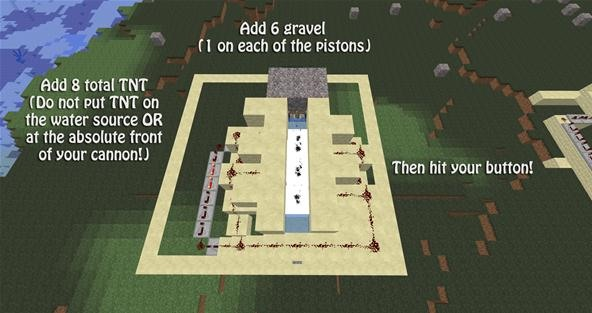 How to Make a Massive Minecraft Mess in an Instant with a Scatter Cannon
