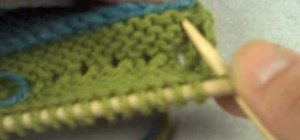 Knit using the welt technique