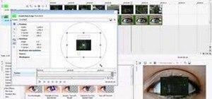 Put a video clip inside an eyeball in Sony Vegas