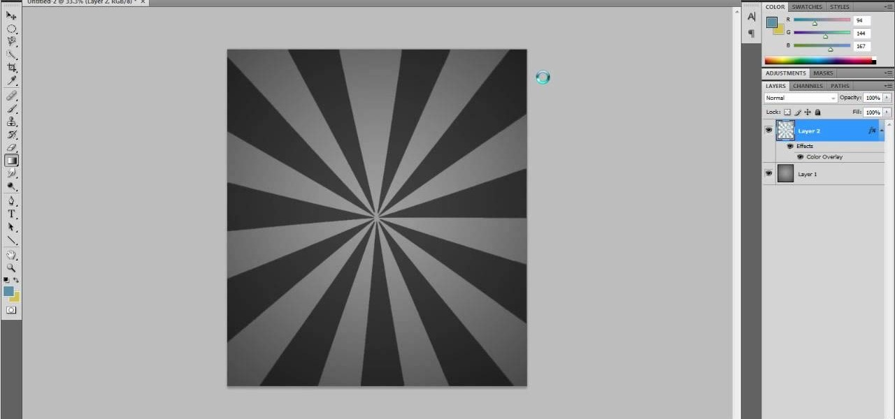 How to Create a custom starburst brush in Adobe Photoshop CS5 ...