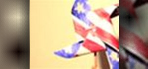 Make a patriotic pinwheel