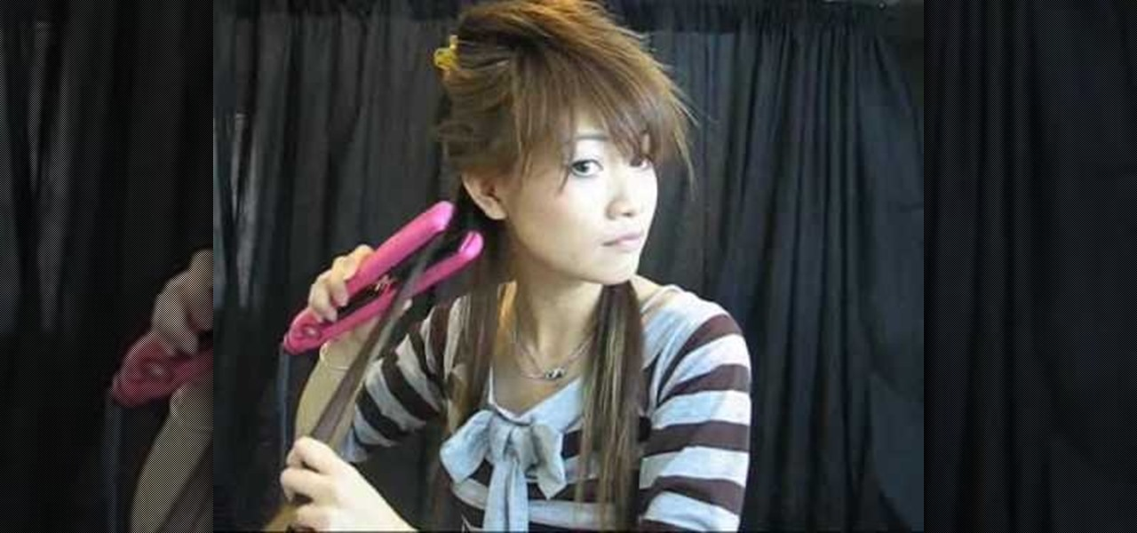 How to Style a Japanese style high ponytail « Hairstyling