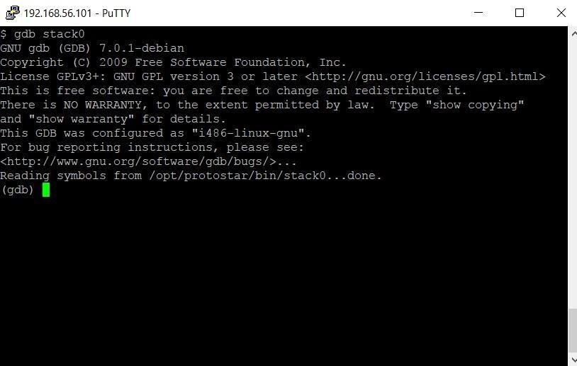 Exploit Development: Learning Binary Exploitation with Protostar