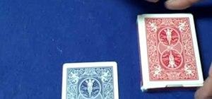 "Do a ""mentalism"" card trick"