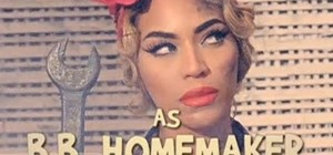 """Create Beyoncé's """"Rosie the Riveter"""" look from """"Why Don't You Love Me?"""""""