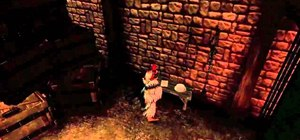 Find the Hobbe worshipping a Portal Companion Cube in Fable 3 (Easter egg)