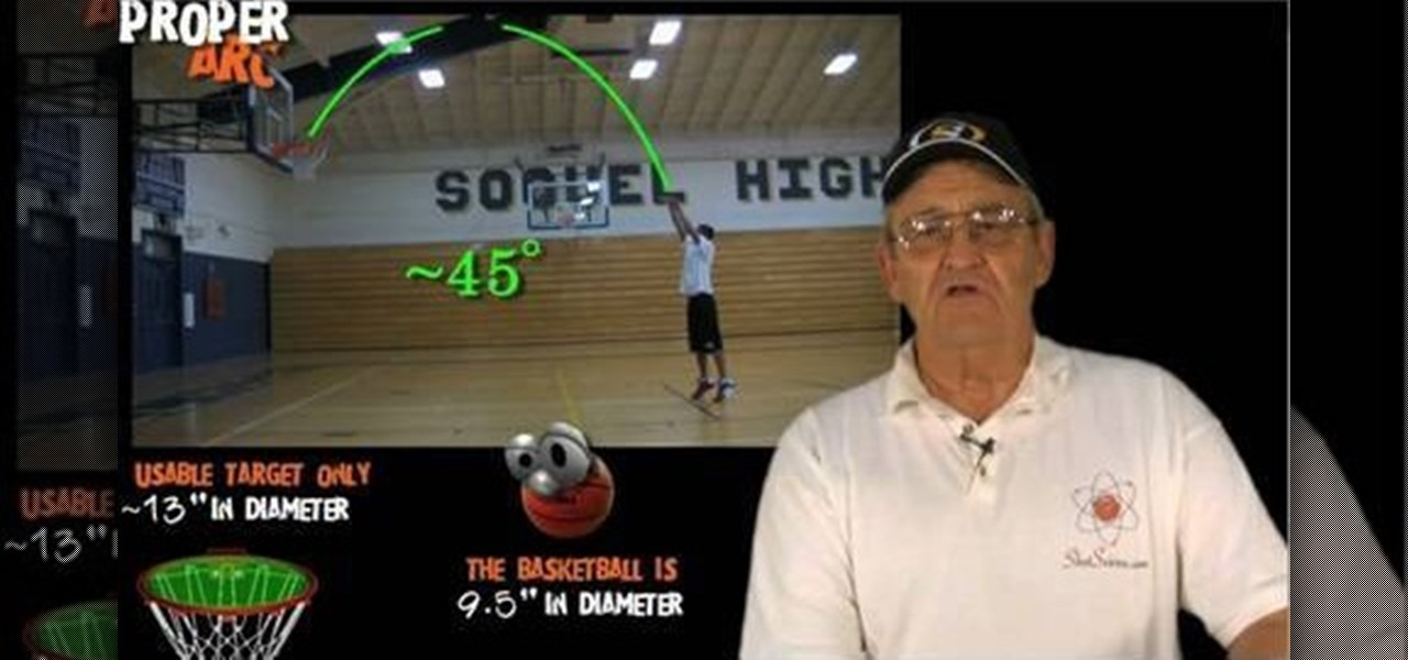 How to Get the perfect shooting arc in basketball « Basketball ...