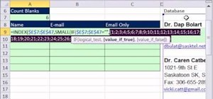 Extract inconsistent name & e-mail data from a one-column list in Excel