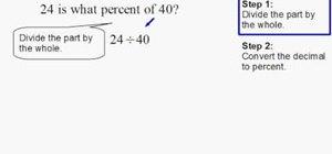 Find percent