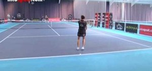 Use drills to develop a reliable, accurate forehand in tennis