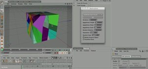 Shatter a 3D object in Cinema 4D