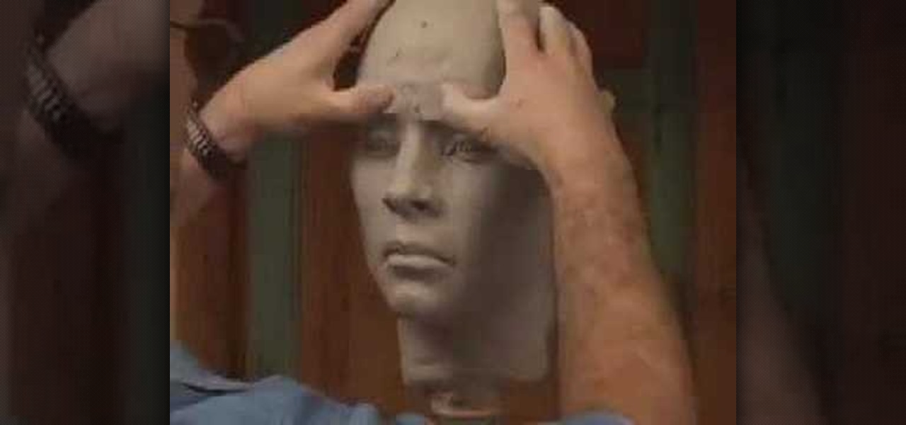 how to sculpt a human head with philippe faraut sculpture