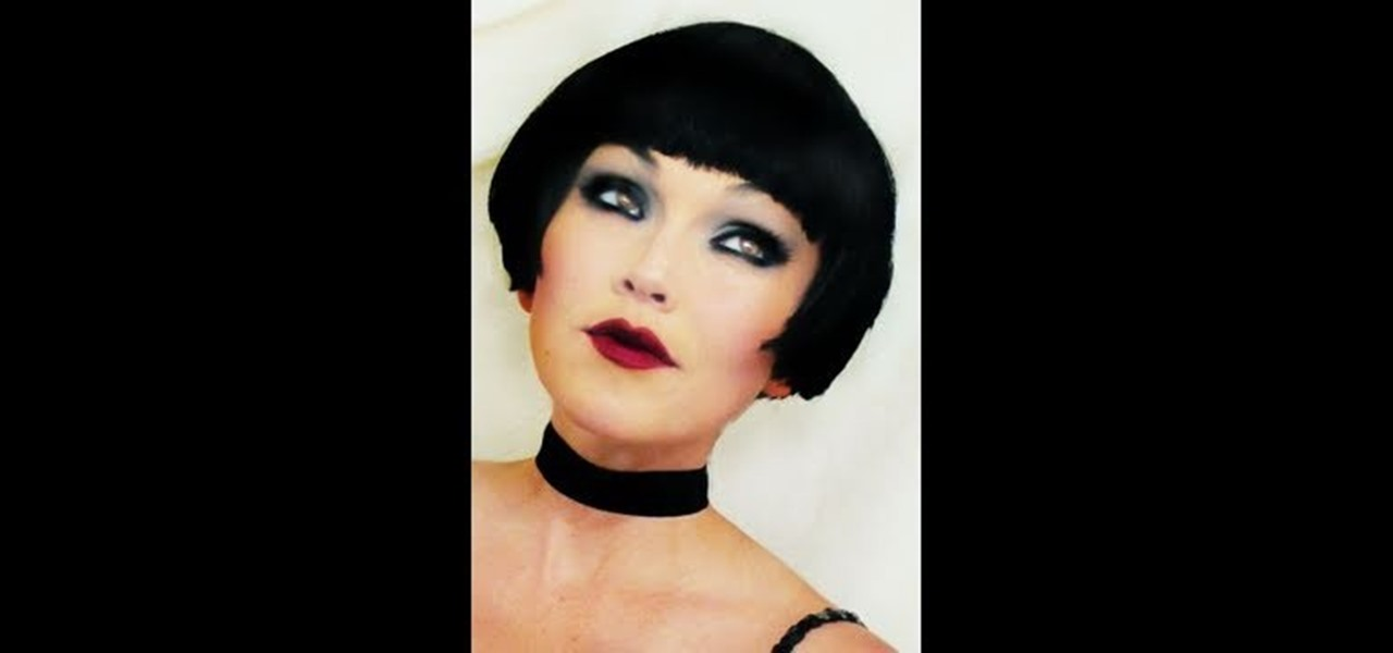 How To Create A Sultry And Vampy 1920 S Flapper Halloween