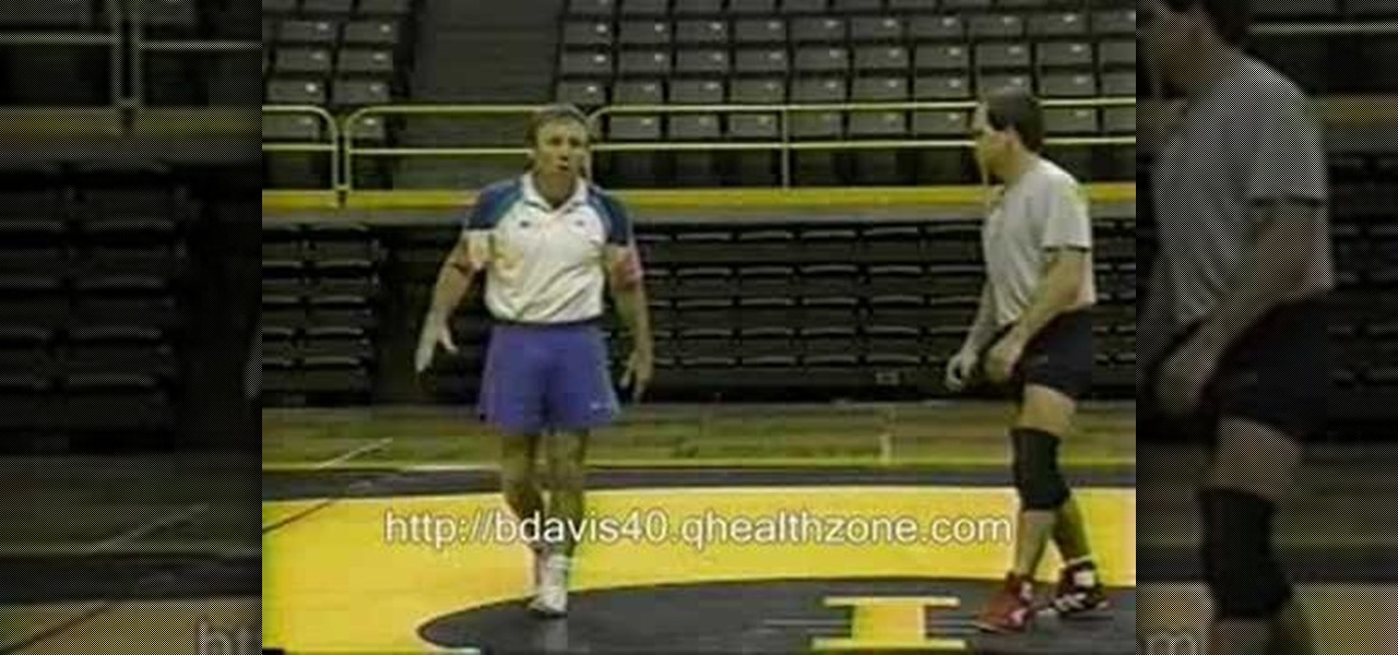 How to Practice a quickness drill in wrestling « Wrestling