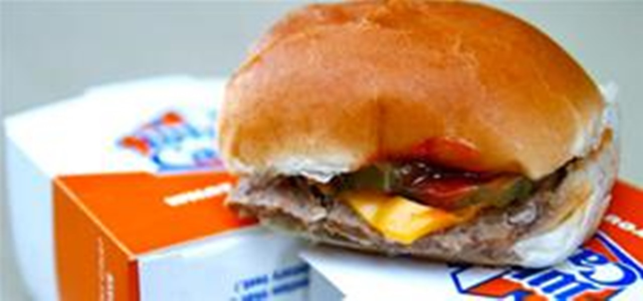 Howto clone a white castle slider beverages wonderhowto for White castle double fish slider with cheese