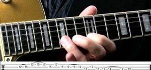 Play a killer classic blues rock lick