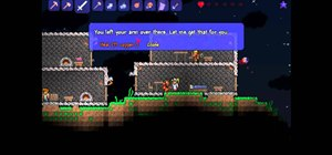 Get a Nurse to your house in Terraria