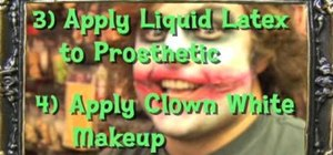Become the Joker, a vampire or a zombie for Halloween
