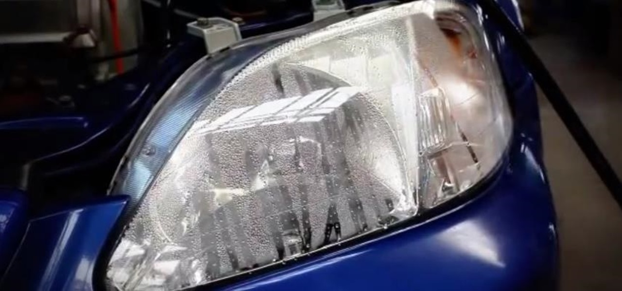 Prevent & Remove Condensation Inside Headlights