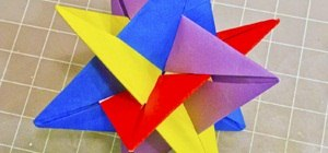 Community Submissions (Plus How to Make a Modular Origami Intersecting Triangles Sculpture)