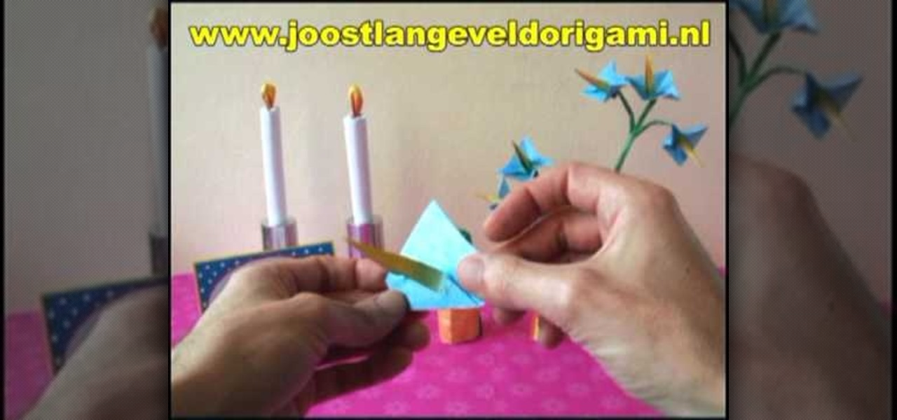 How To Fold An Origami Star Flower For Beginners Origami