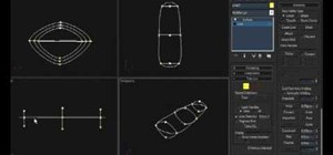 Use spline cage modeling in 3D Studio Max