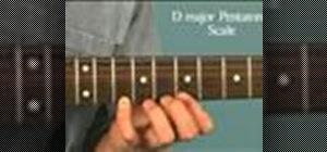 Solo over a D major tune