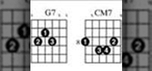 Play a 2-5-1 chord progression in C